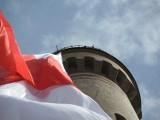 640 metrów kwadratowych, 20 metrów szerokości i 32 metry długości - taka flaga tylko w Świnoujściu