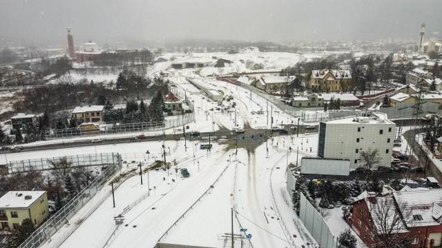 Od 1 lutego skrzyżowanie ulic Witosa, Herberta i Turowicza zostanie w pełni otwarte.