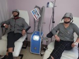 Dar dla pacjentów Szpitala Morskiego im. PCK w Gdyni leczących się onkologicznie. Czepiec chroni przed wypadaniem włosów