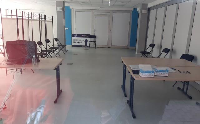 Punkt szczepień w Centrum Aktywności Lokalnej w Goleniowie zostanie jutro zamknięty