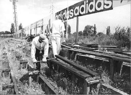 Stadion ŁKS był już wielokrotnie remontowany, ale nadal wśród obiektów ekstraklasy prezentuje się mało okazale.