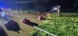 Burza nad Głogowem i powiatem. Zalane posesje w całym regionie, powódź w Nielubi. Strażacy pracowali całą noc