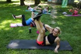 Kraków. W sobotni ranek park Jordana zamienił się w zielony klub fitness. A to dopiero początek! [ZDJĘCIA]