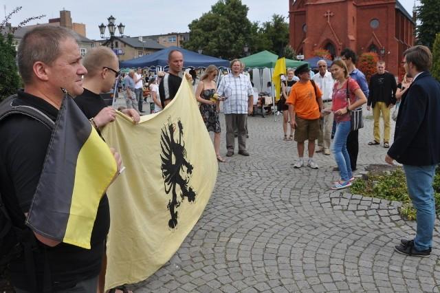 Obchody w Kartuzach 18 sierpnia 2013 roku