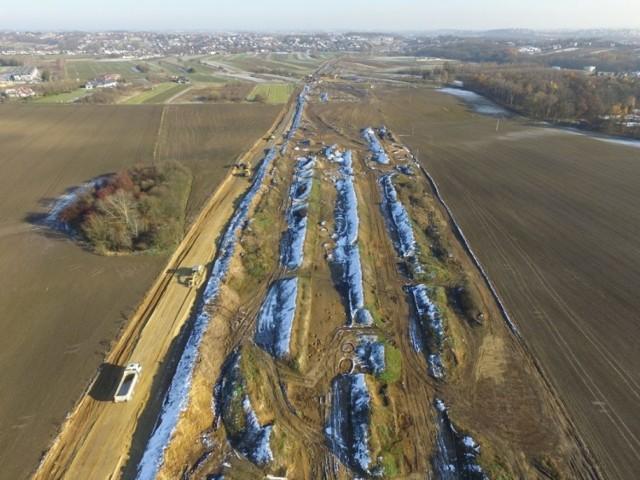 Budowa północnego odcinka obwodnicy Krakowa