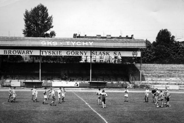 Stary stadion GKS Tychy  Zobacz kolejne zdjęcia. Przesuwaj zdjęcia w prawo - naciśnij strzałkę lub przycisk NASTĘPNE