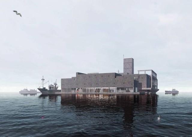 Tak mógłby wyglądać klasztor urządzony w torpedowni na Babich Dołach.
