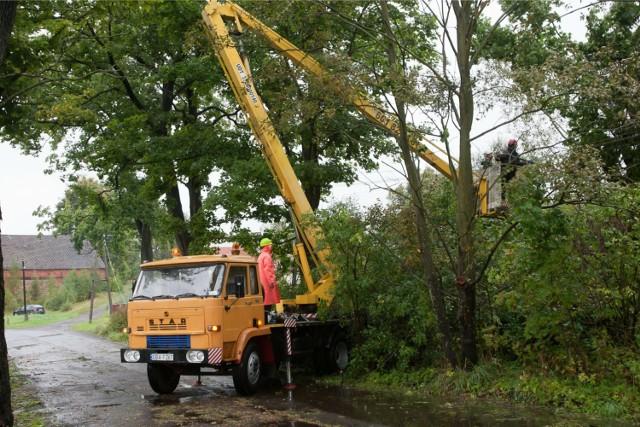 Pogoda na Dolnym Śląsku - wietrznie i niebezpiecznie