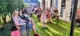 Letni Ogród Poetów w Sieradzu. Spotkanie z dwójką poetów i koncert na koniec projektu ZDJĘCIA