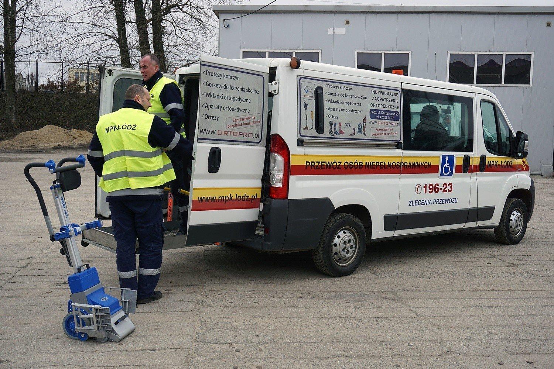 Bardzo dobra Nowe auta do przewozu osób niepełnosprawnych w MPK Łódź HH47