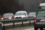 Wypadek na S6 w Gdyni! 2.10.2021 r. Zderzenie dwóch samochodów osobowych. Utrudnienia w ruchu!