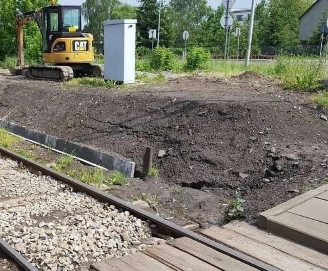 Przejazd kolejowy będzie remontowany do soboty