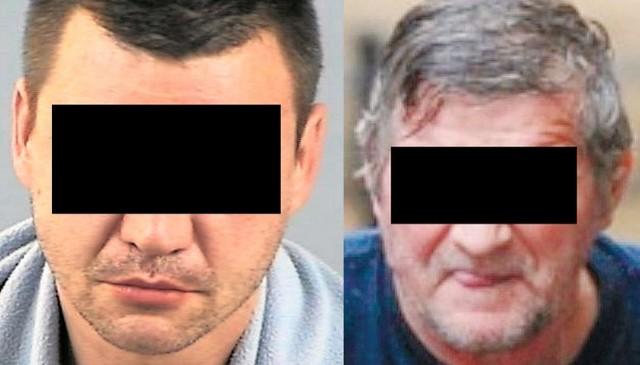 Morderca Adam D. (z lewej) i pedofil Kazimierz K. pochodzą z powiatu sokólskiego