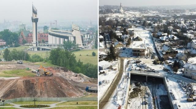 Budowa Trasy Łagiewnickiej trwa już od trzech lat. Zakończenie prac planowane jest na koniec 2021 roku.