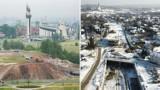 Kraków. 3 lata budowy Trasy Łagiewnickiej. Zobacz, jak przez ten czas zmieniała się ta inwestycja [ZDJĘCIA]