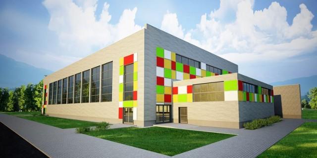 Gmina Firlej buduje halę sportową i szkołę.