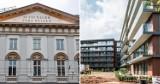 Kraków. Słynne przysłowie na elewacji hotelu na Stradomiu. W sąsiedztwie kończą budowę apartamentowca [ZDJĘCIA]