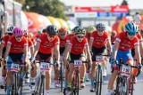 Wyścig w Rzeszowie wyłonił pierwszych liderów Tour de Pologne Junior. Zobacz wideo i zdjęcia