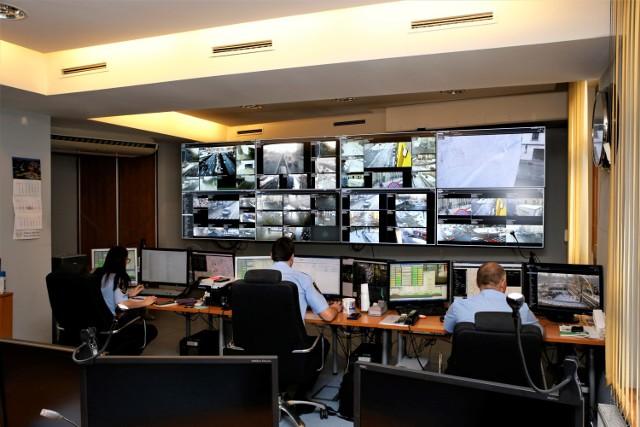 Centrum obsługi monitoringu w Katowicach