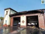 Pożar w Topoli Małej. Straty sięgają 2 milionów złotych [ZDJĘCIA]