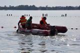 Poszukiwania zaginionych chłopców na jeziorze w Wąsoszu koło Szubina wznowione [zdjęcia]