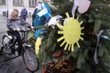 Choinkę na Mariackiej napędzają rowerzyści