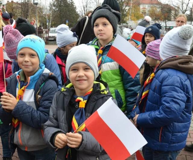 Święto Niepodległości w Wadowicach Archiwalne zdjęcia