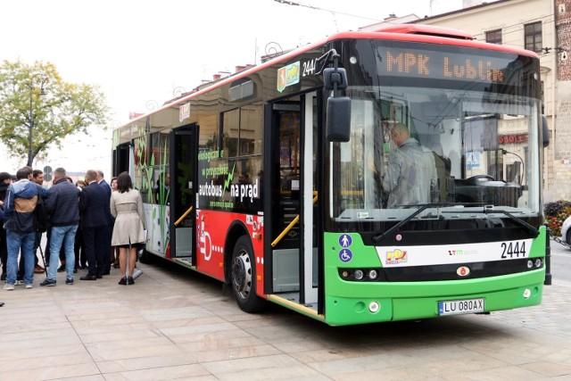 Lublin dostał 34 mln zł na zakup elektrobusów.