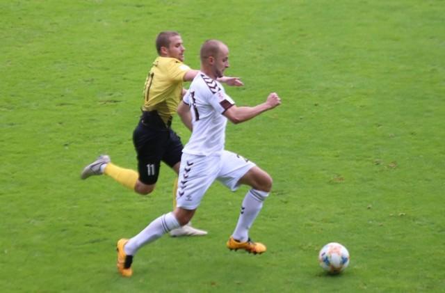 Garbarnia Kraków wygrała z GKS Katowie 1:0 i awansowała do II rundy PP  Zobacz kolejne zdjęcia. Przesuwaj zdjęcia w prawo - naciśnij strzałkę lub przycisk NASTĘPNE