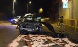 Wypadek na skrzyżowaniu w Bytowie. Jeden kierowca trafił do szpitala