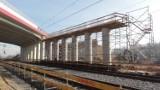 Budowa wiaduktu autostradowego na A1 w Częstochowie. Uwaga na utrudnienia dla kierowców
