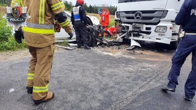 Tragiczny wypadek koło Żelaznego Mostu