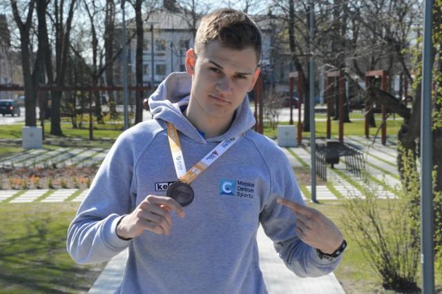 Na upragniony medal mistrzostw Polski Kacper Krawczyk czekał 10 lat