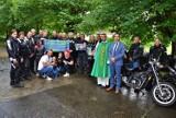 Msza święta w intencji wyprawy motocyklowej Ani i Romana Czarnowskich