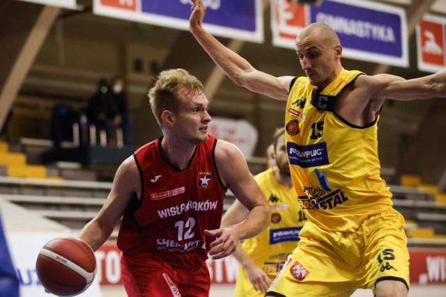 Michał Chrabota był najskuteczniejszym koszykarzem TS Wisła Chemart Kraków w wyjazdowym meczu z GKS-em Tychy