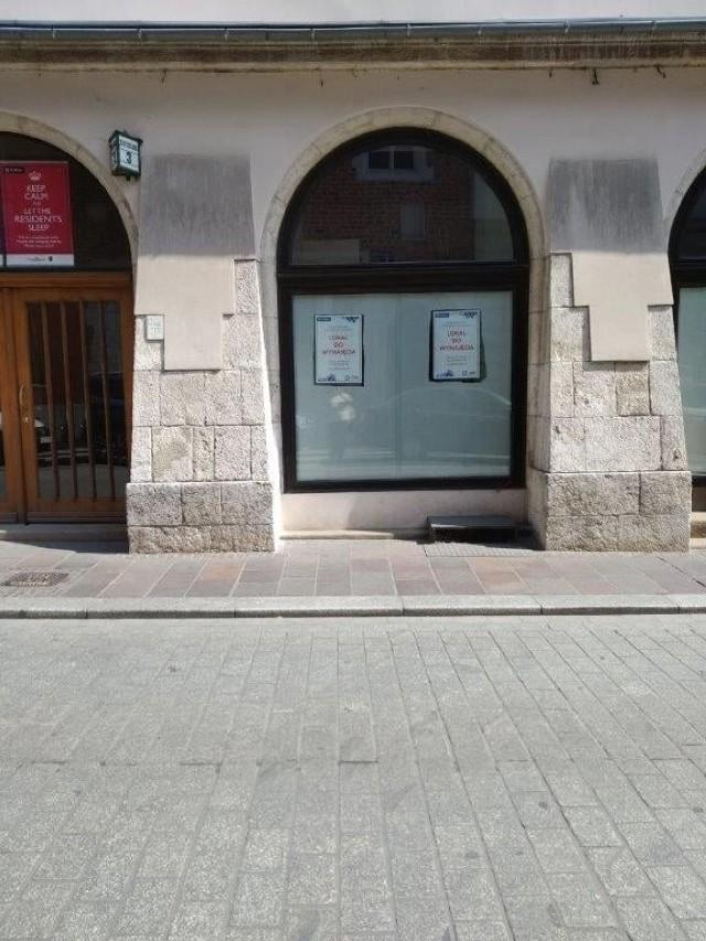 Lokal użytkowy położony przy ul. Szpitalnej 3 w Krakowie