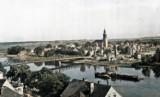 Pokolorowaliśmy stare, czarno-białe zdjęcia Krosna Odrzańskiego. Oto jak prezentują się archiwalne fotografie w kolorze!