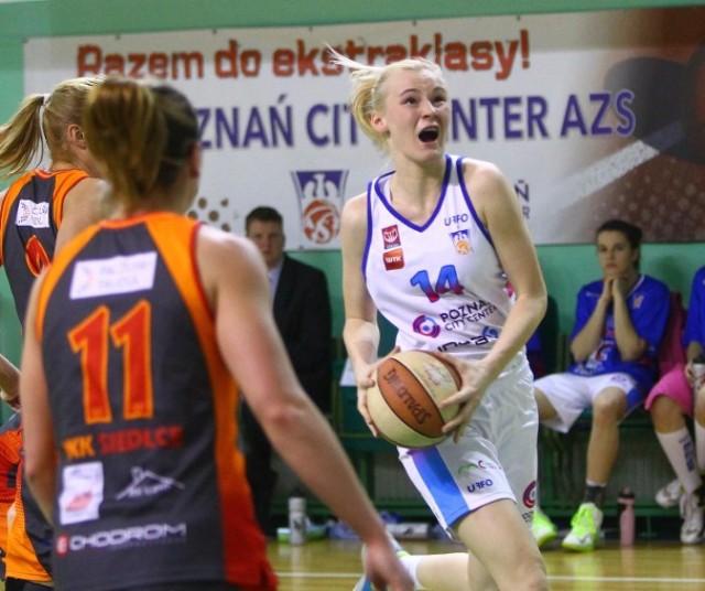Poznań City Center AZS - MKK Siedlce 46:68