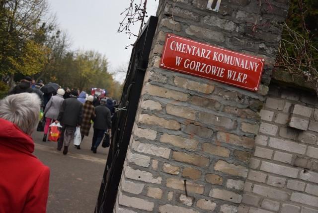 Na cmentarzu w Gorzowie jest ponad 40 tys. grobów.
