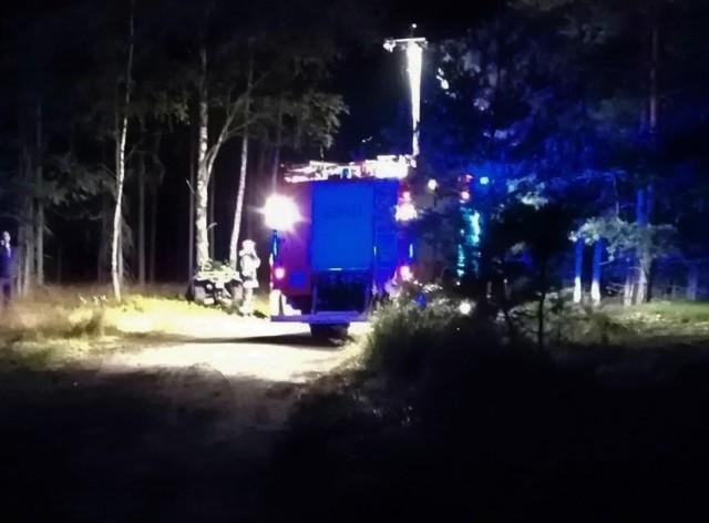 Wypadek dwóch nastolatków w Kaletach. Pasażer quada zginął na miejscu