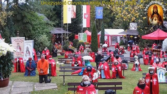 W pustelni byłego księdza Piotra Natanka w Grzechyni odbyły się uroczystości ku czci Chrystusa Króla