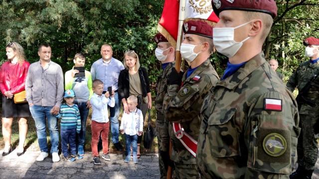 Góry Borowskie 2020. 81. rocznica bitwy - uroczystości patriotyczne