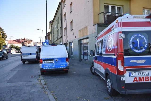 Do tragedii doszło w bloku przy ul. Krakowskiej w centrum Tarnowa