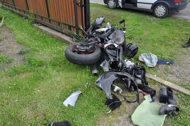 Wypadki w powiecie biłgorajskim: dwóch 20-latków w szpitalu