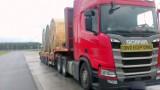 Droga ekspresowa S5. Funkcjonariusze leszczyńskiej WITD zatrzymali za długi i zbyt ciężki pojazd bez odpowiednich uprawnień [ZDJĘCIA]