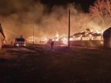 Wielki pożar gospodarstwa w Dąbrowie Łużyckiej koło Przewozu. Straty szacuje się na ok.500 tyś. złotych. Złapano podejrzanego o podpalenie