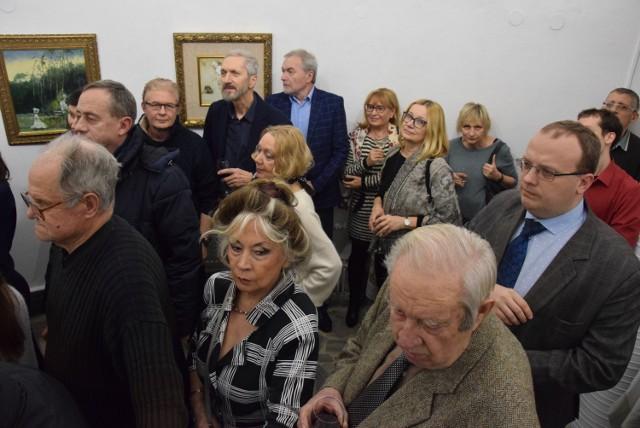 Wystawa prac Jerzego Dudy-Gracza w Wieży Ciśnień w Kaliszu
