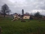 Rodzina z trójką małych dzieci w gminie Czarna Dąbrówka straciła w pożarze wszystko
