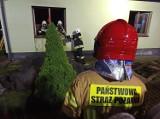 Pożar w powiecie opolskim. Pięć zastępów straży pożarnej walczyło z ogniem. Zobacz zdjęcia