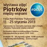 W Focus Mall w Piotrkowie wystawa zdjęć międzywojennego Piotrkowa